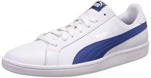 Puma Smash Leather, Unisex-Erwachsene Tennisschuhe