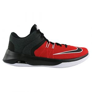 Nike Herren Air Versatile II Rot Mesh Basketballschuhe