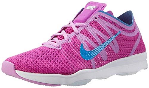 Nike Damen Wmns Air Zoom Fit 2 Gymnastikschuhe, Blau, 16 EU