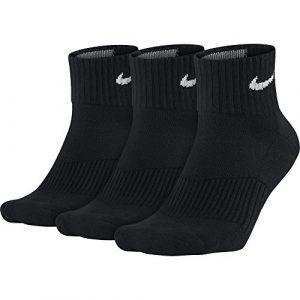 Nike Herren Strümpfe Cushion Quarter, 3er Pack