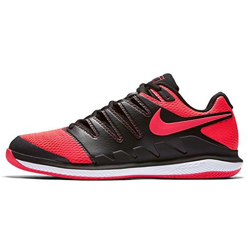 Chaussure Nike Zoom Vapor X Clay Noir Rouge Printemps 2018 - 43