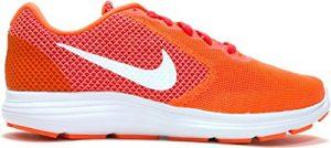 Nike Revolution 3 Sneaker Fitnessschuhe orange/pink/weiss