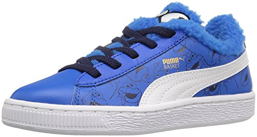 Puma Sesame Street Basket Kids Sneaker (Little Kid/Big Kid)