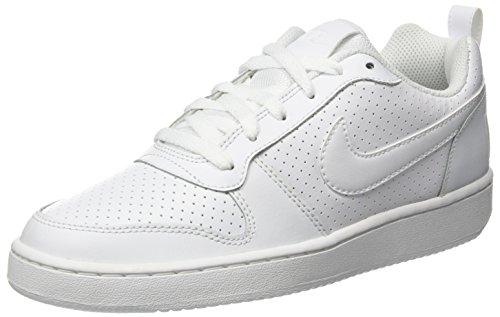 Nike Herren Court Borough Low Basketballschuhe, Grau