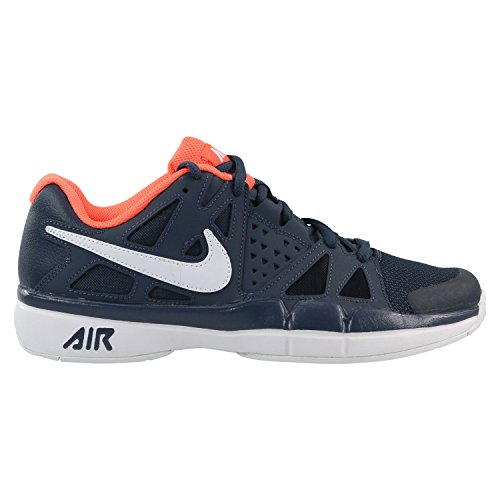 Nike Herren Court Air Vapor Advantage Dunkelblau Textil/Synthetik Tennisschuhe