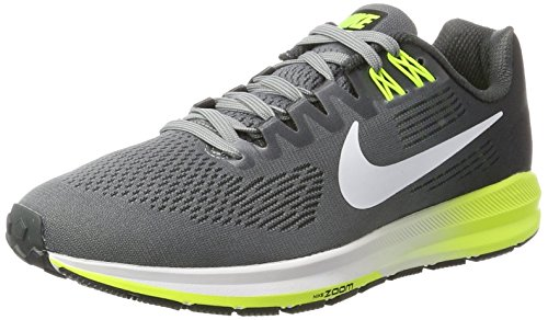 Nike Herren Air Zoom Structure 21 Laufschuhe, Multicolore (Pure Platinum/Anthracite-Cool Grey 005, 42_EU