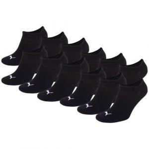 PUMA Unisex Sneakers Socken Sportsocken 4 x 3er Pack black 200 – 35/38