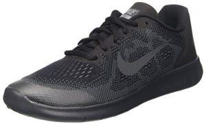 Nike Jungen Free RN 2017 (GS) Joggingschuhe, Schwarz, 38.5 EU