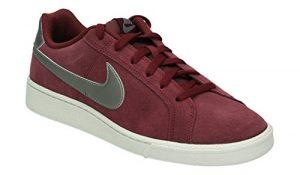 Nike Herren Court Royale Suede Sneaker, Schwarz
