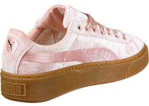 Puma Basket Platform Vs Damen Sneaker Pink