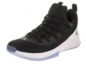 Jordan Herren Basketballschuhe schwarz 47
