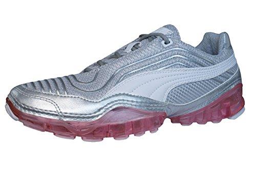 Puma Cell Meio Womens Running Schuhe Sneaker / Schuh - Silber