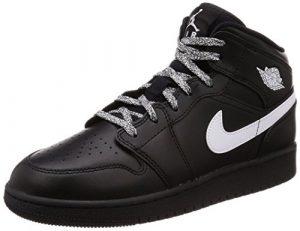 Nike Jungen Air Jordan 1 Mid (GS) Basketballschuhe