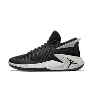 Nike Herren Jordan Fly Lockdown Schwarz Mesh/Synthetik Basketballschuhe