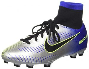 Nike Unisex-Kinder Jr Mercurial Vctry 6 DF NJR FG Fußballschuhe