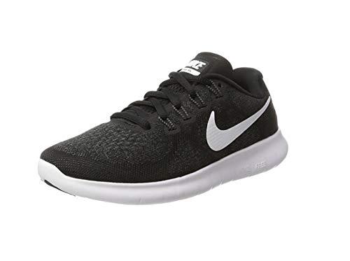 Nike Damen Free Rn 2017 Schwarz Sneaker