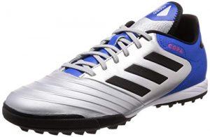 adidas Herren Copa Tango 18.3 TF Fußballschuhe, Weiß/Schwarz, 39 1/3 EU