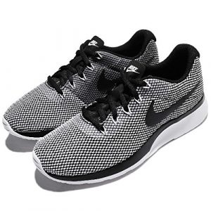 Nike Damen Tanjun Racer Sneakers, Schwarz/Weiß