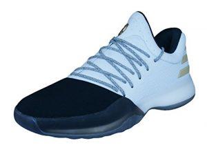 adidas Herren Harden Vol. 1 Basketballschuhe, Bianco, 44 EU
