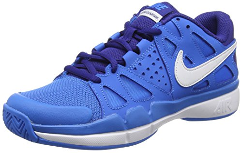 Nike Damen Air Vapor Advantage Tennisschuhe, Blau
