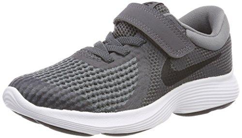 Nike Unisex-Kinder Revolution 4 (PSV) Laufschuhe, Schwarz, Taglia Unica