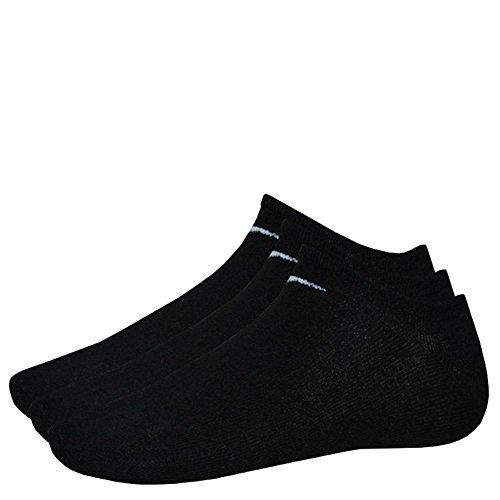 9 Paar NIKE Sneaker-Socken NO Show schwarz M (38-42) SX2554-001
