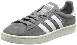 adidas Herren Campus Sneakers, Grau (Grey Three F17/ftwr White/chalk White), 42 EU