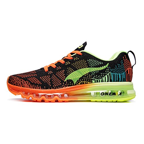 ONEMIX Herren Leichte Laufschuhe Outdoor Jogging Sneaker Sportschuhe Unisex