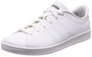 adidas Damen Advantage Clean QT Fitnessschuhe, Weiß (Ftwbla/Negbás 000), 37 1/3 EU