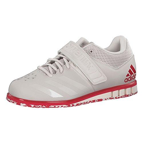 adidas Herren Powerlift.3.1 Multisport Indoor Schuhe, mat/Noir/Blanc