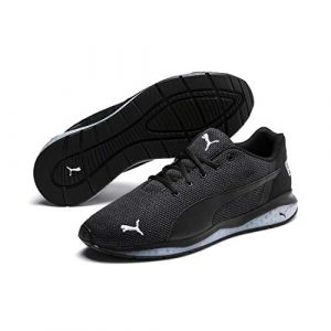 Puma Herren Cell Ultimate Point Laufschuhe, Schwarz Black White 01, EU