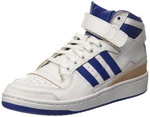 adidas Herren Forum Mid (Wrap) Basketballschuhe, Mehrfarbig (Ftwr White/collegiate Royal/ftwr White), 39 1/3 EU