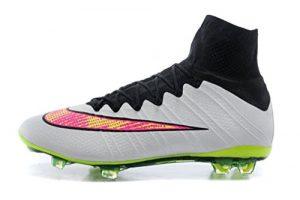 Herren Mercurial X Superfly IV Obra FG mit ACC Hi Top Fußball Schuhe Fußball Stiefel, Herren, weiß, UK10.5/EUR45