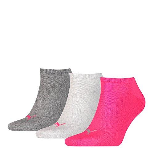 Puma 6 Paar Sneaker Invisible Socken Gr. 35-49 Unisex für Damen Herren Füßlinge