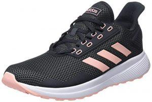 adidas Damen Duramo 9 Fitnessschuhe, Grau (Carbon/Narcla/Ftwbla 000), 40 2/3 EU