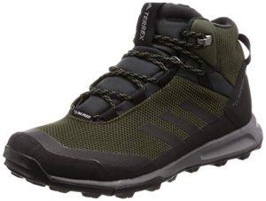adidas Herren Terrex Tivid Mid Cp Trekking-& Wanderstiefel, grün, 50.7 EU