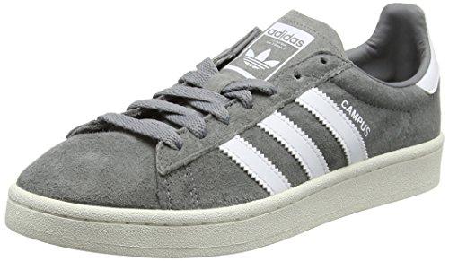 adidas Herren Campus Sneakers, Grau (Grey Three F17/ftwr White/chalk White), 44 2/3 EU
