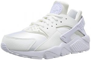 NIKE Damen Air Huarache Run Sneaker, Weiß White, 42 EU