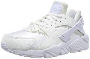 NIKE Damen Air Huarache Run Sneaker, Weiß White, 42 EU