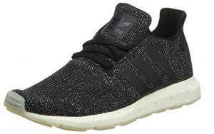 adidas Damen Swift Run W Laufschuhe, schwarz, 3.5 EU