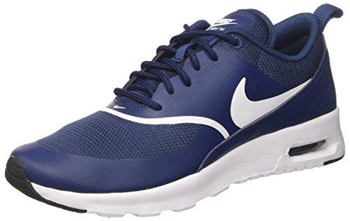 Nike Damen Wmns Air Max Thea Gymnastikschuhe - Blau (Navy/white Black 419) , 41 EU