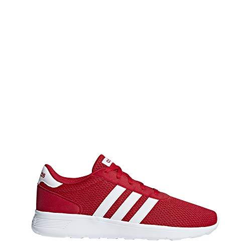 adidas Herren Lite Racer Fitnessschuhe, Rot (Escarl/Ftwbla/Escarl 000), 47 1/3 EU