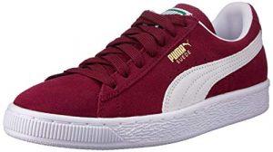 Puma Unisex-Erwachsene Suede-Classic+ Sneakers, Rot (Cabernet-White), 44.5 EU