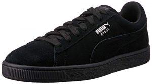 Puma Unisex-Erwachsene Suede-Classic+ Sneakers, Schwarz (Black-Dark Shadow), 39 EU