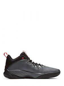 Nike Herren Jordan Super Fly MVP Low Basketballschuhe, grau