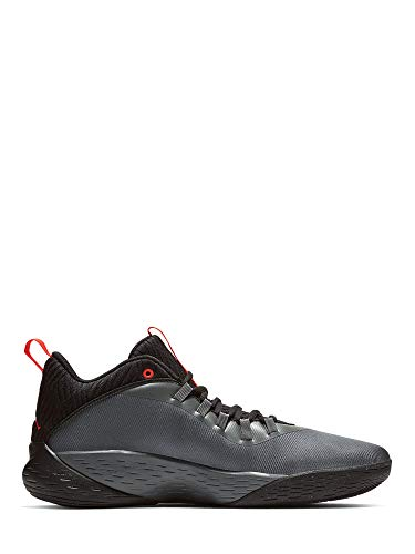 Nike Herren Jordan Super Fly MVP Low Basketballschuhe, grau