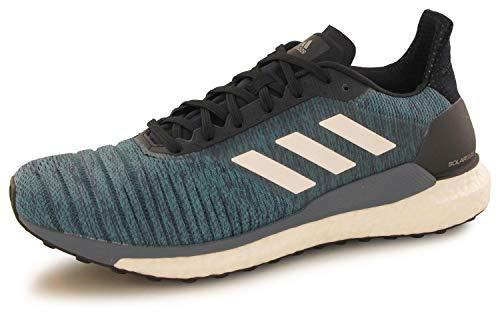 adidas Herren Solar Glide Traillaufschuhe, blau/weiß, 42 EU