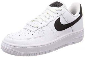 Nike Damen WMNS Air Force 1 '07 Basketballschuhe, schwarz