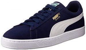 Puma Herren Suede Classic + Sneakers, Blau (Peacoat-White), 38 EU