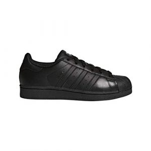 adidas Unisex-Kinder Superstar Foundatio Basketballschuhe, weiß, M